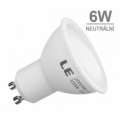 LED žárovka 6W 12xSMD2835 GU10 516lm NEUTRÁLNÍ